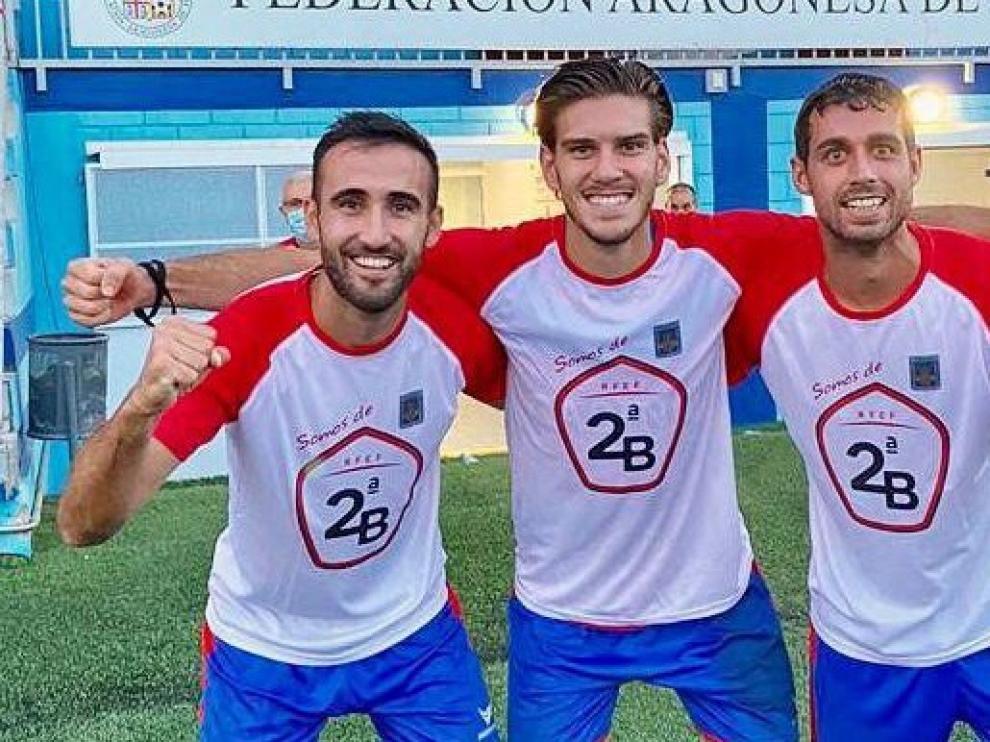 Un sueño cumplido para Luis Costa, Rausell y Sergio Sánchez