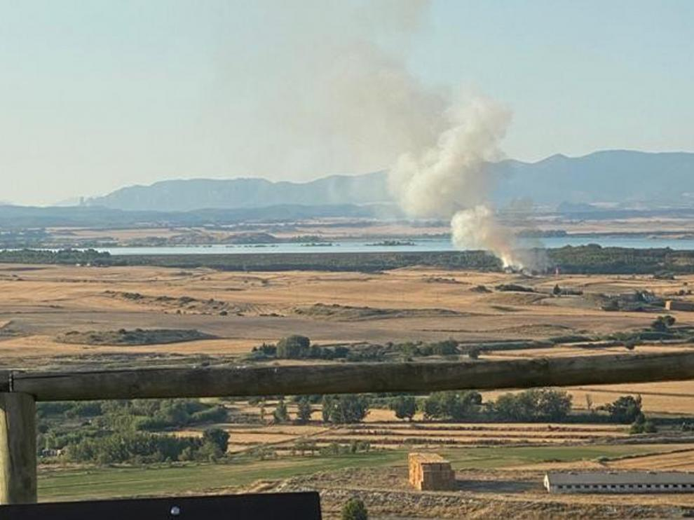 Calor sofocante tras una jornada con varios conatos de incendios en la provincia de Huesca