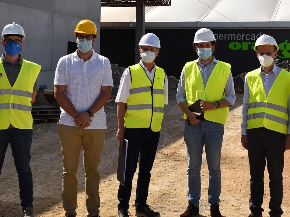 Avanzan las obras del nuevo hipermercado Orangután de Monzón que se inaugurará antes de Navidad