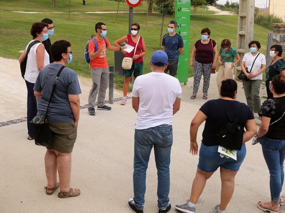 Visita guiada al parque de las Mártires de Huesca