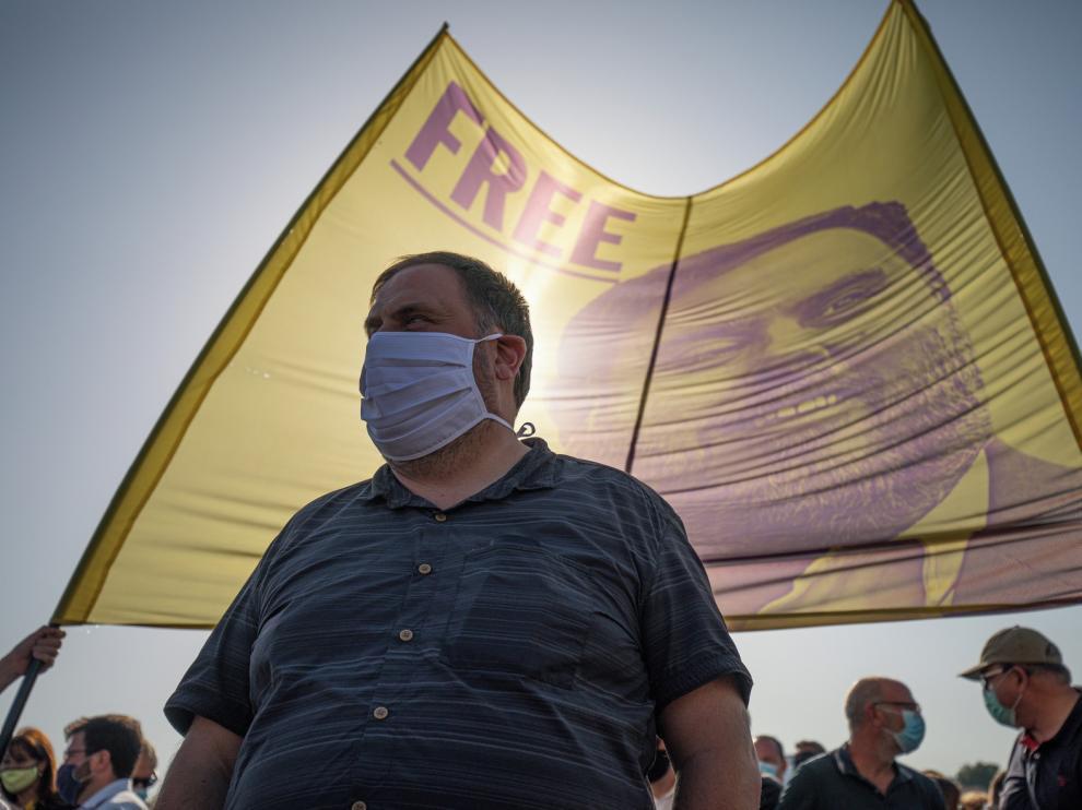 Suspenden el tercer grado a Junqueras y dirigentes presos