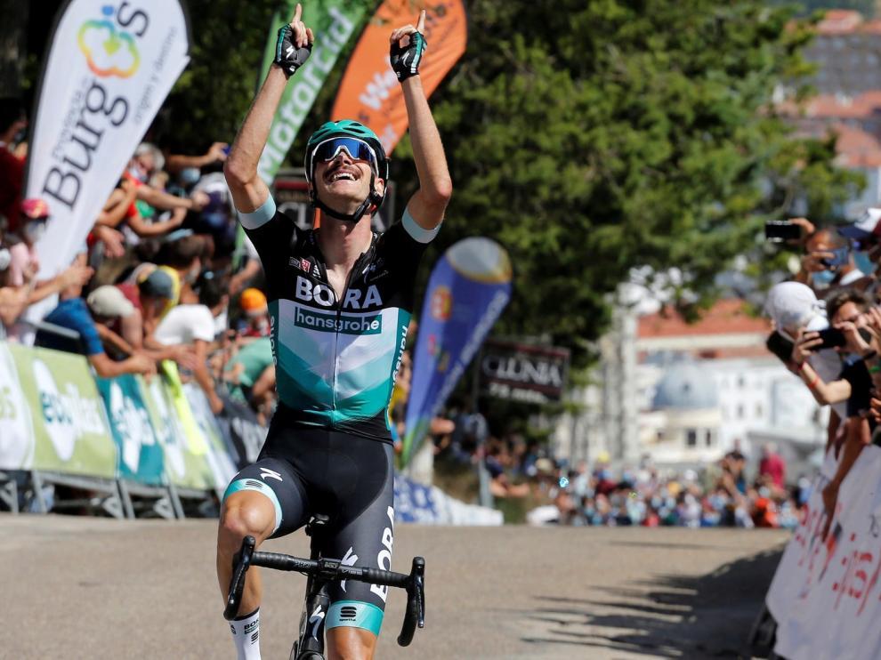 Groschartner sorprende en la subida final en Burgos
