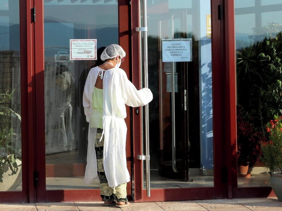 El alcalde de Chimillas muestra su preocupación por los contagios detectados en la residencia