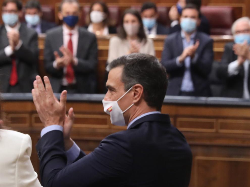 Las medidas económicas para la Reconstrucción son aprobadas en el Congreso de los Diputados