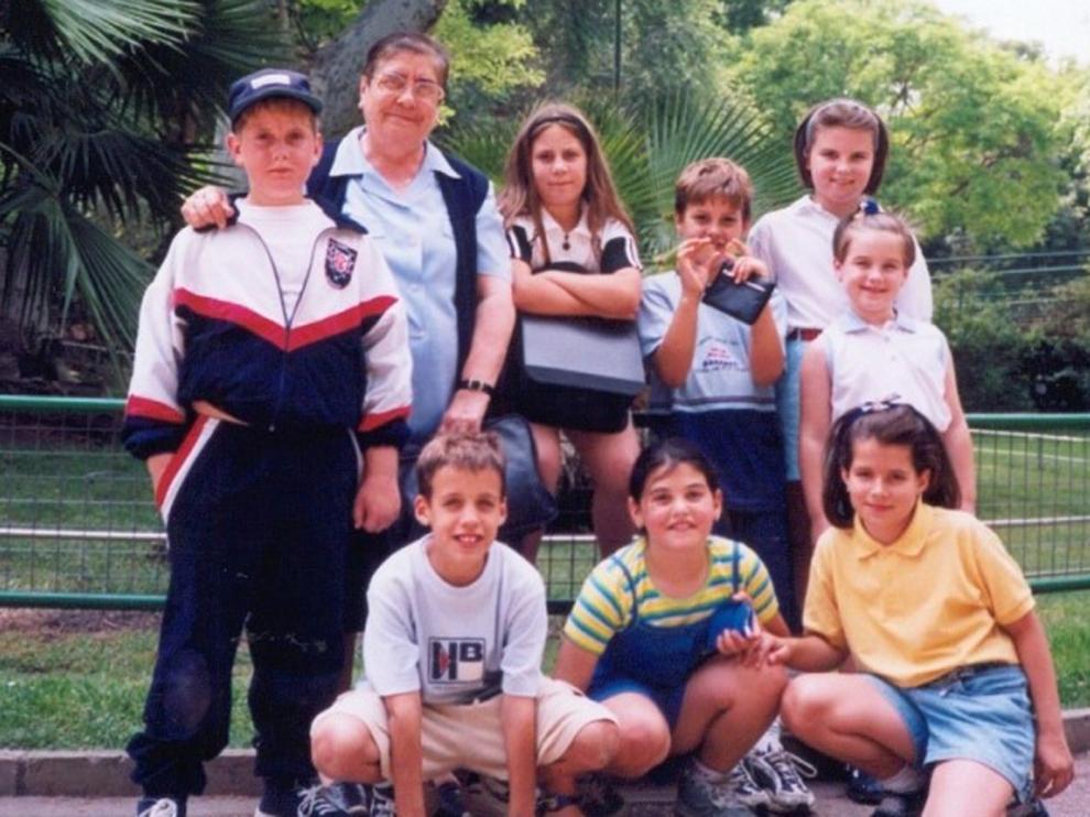 """Muere en Pamplona a los 88 años sor Hipólita Jiménez, """"Sori"""" para sus alumnos"""