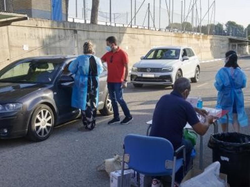 La plantilla del Real Zaragoza se somete a nuevas pruebas de la covid-19