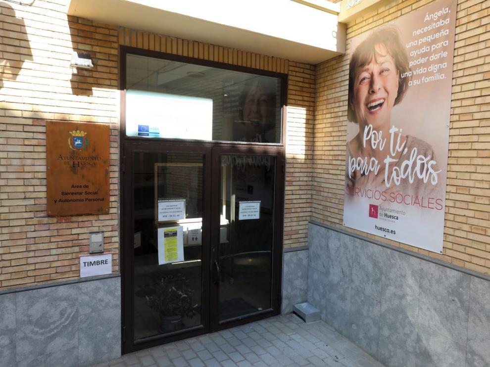 El Ayuntamiento de Huesca busca una sede de alquiler para Servicios Sociales
