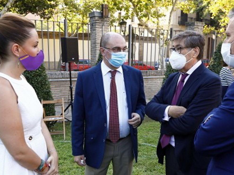 Revuelo por las críticas de Lambán sobre los rebrotes de coronavirus en residencias