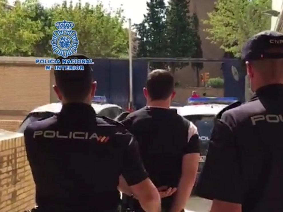 Detenido el autor de un robo con violencia en un establecimiento de alimentación de Huesca