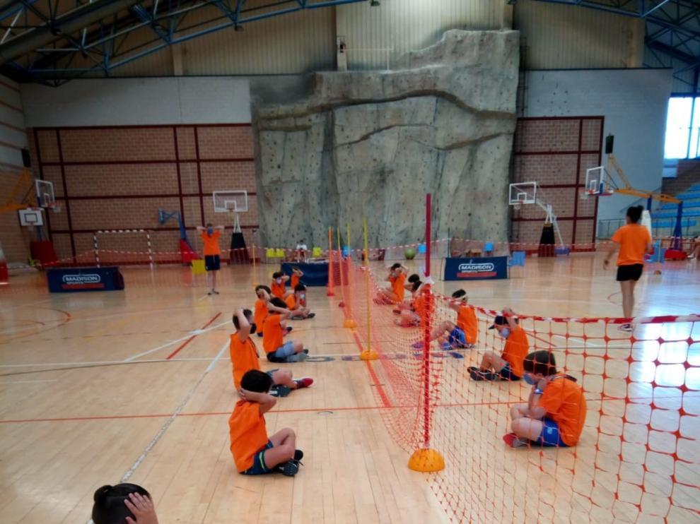 El campus de deportes de Monzón se despide con un balance positivo