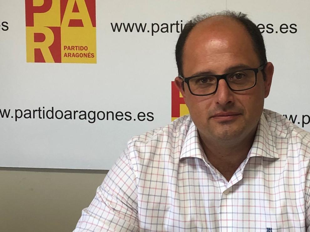 """El PAR afirma que el registro sanitario en Galicia es """"insolidario"""" con los aragoneses"""