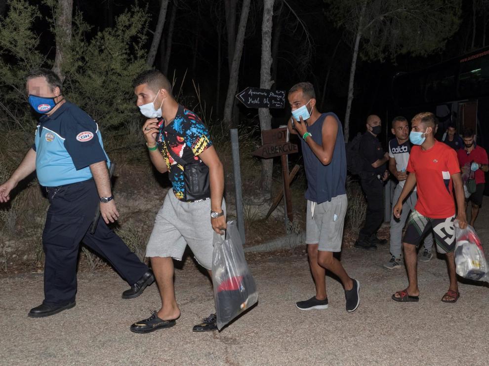 Más de 110 migrantes han llegado este sábado a costas españolas a bordo de pateras