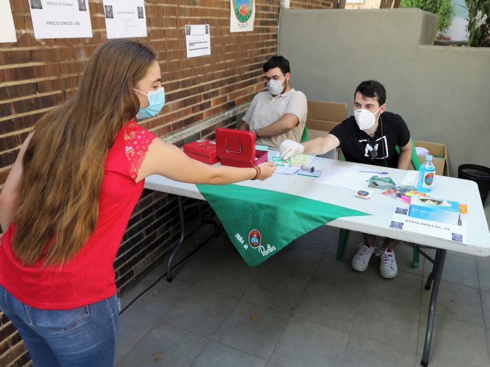 Las Peñas Recreativas de Huesca dicen que el comportamiento de los oscenses es ejemplar