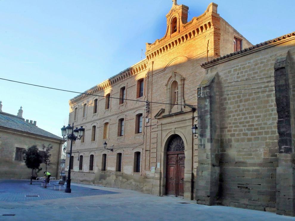 Exigen protección para dos patios del Seminario de Huesca