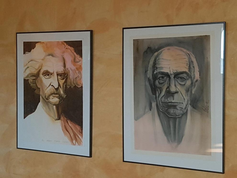 El torreón de Sinués acoge una exposición de arte y fotografía
