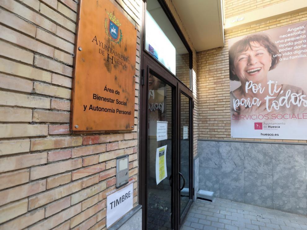 Luis Felipe renunció al espacio de los antiguos juzgados de Huesca en 2017