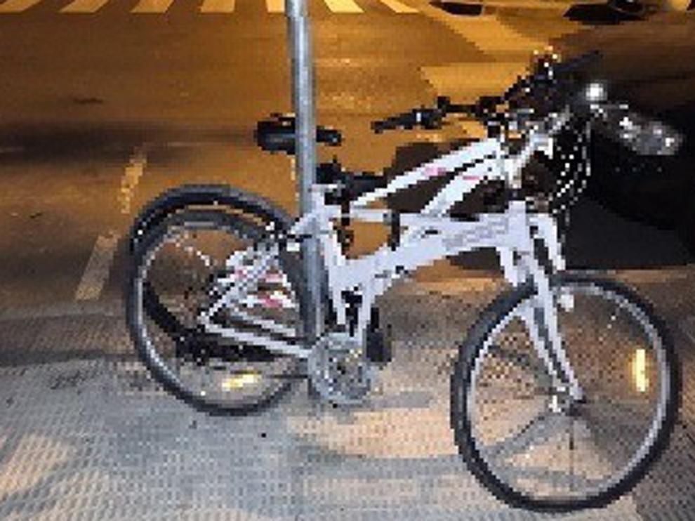"""Dos detenidos pillados """"in fraganti"""" sustrayendo sendas bicicletas en Huesca"""