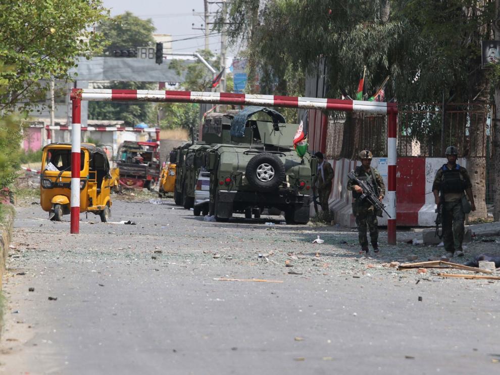 Ascienden a cerca de 30 los muertos por un ataque de Estado Islámico a una prisión de Afganistán