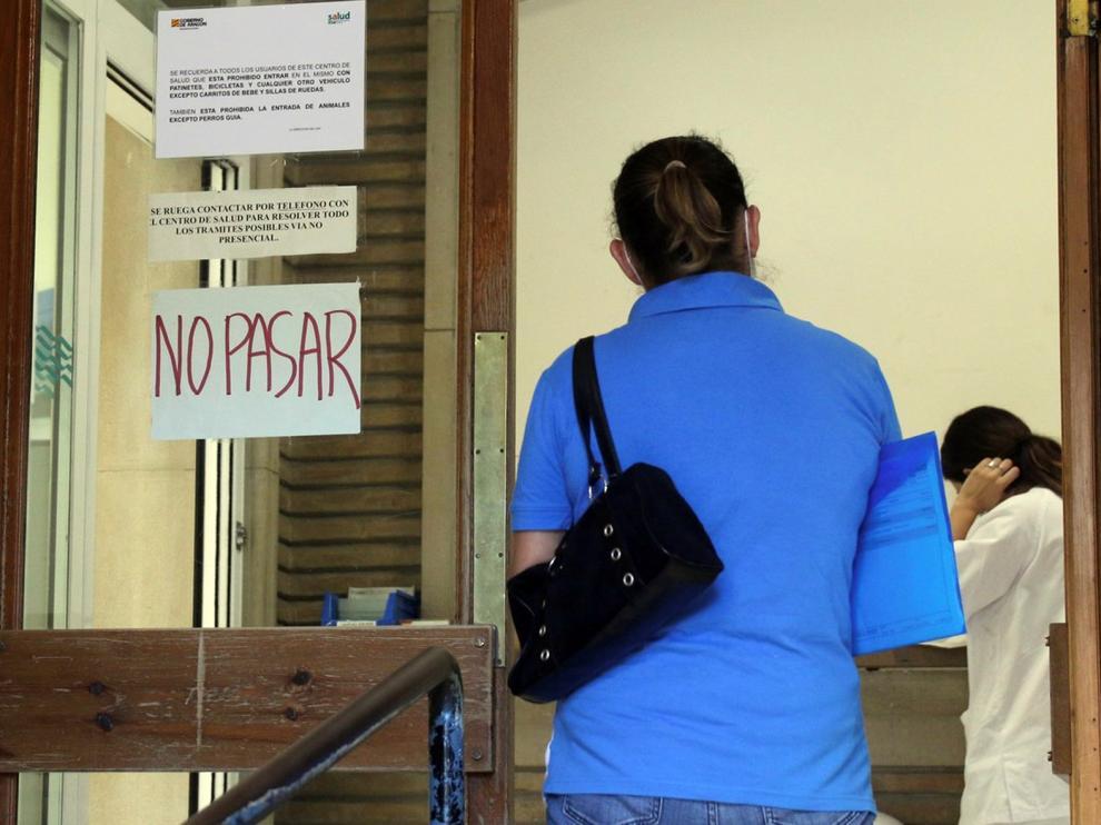 Las pruebas en el Centro de Salud Santo Grial de Huesca concluyen sin más contagios entre la plantilla