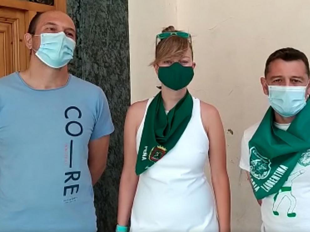 Las peñas de Huesca redoblan su petición para que la gente sea prudente