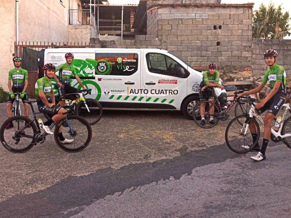 """Buenas sensaciones de los ciclistas altoaragoneses en el Xacobeo 2021"""""""