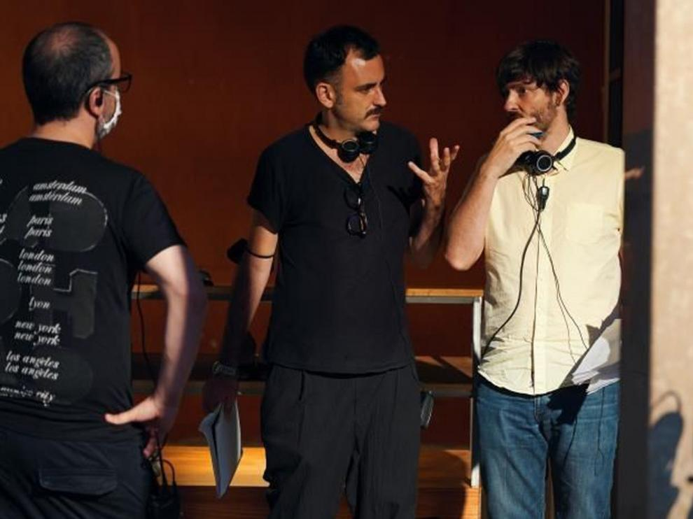 """Marqués-Marcet y Messiez ruedan la serie """"Escenario 0"""""""