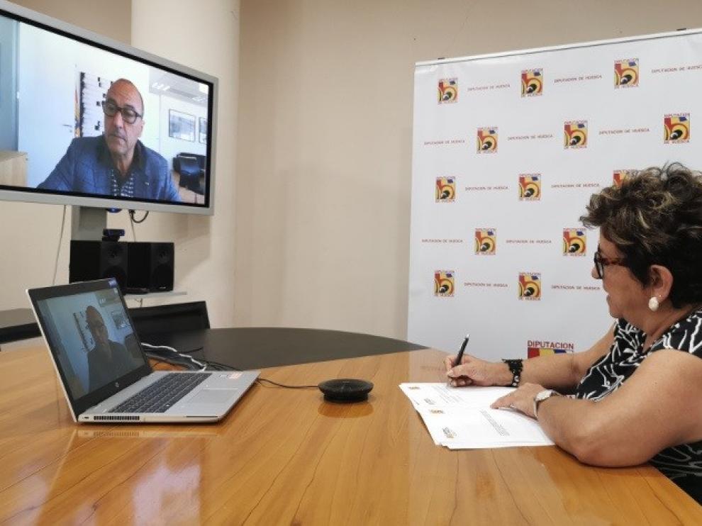 El Gobierno de Aragón y la DPH llevarán a cabo actuaciones en 22 centros educativos de la provincia de Huesca