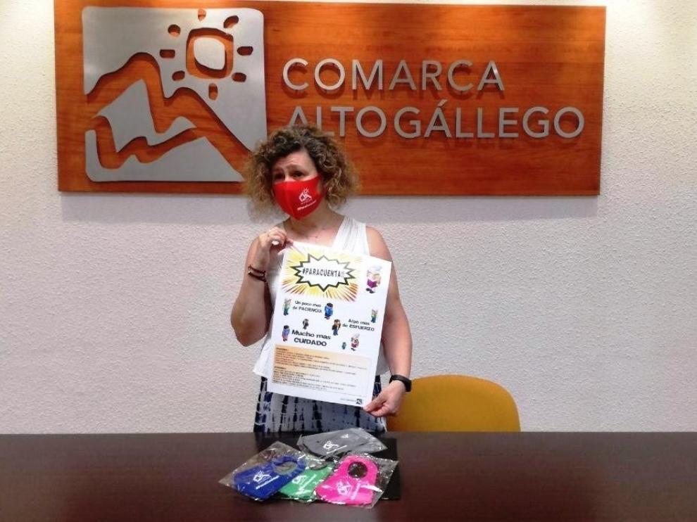 """El Alto Gállego dice a la juventud que """"pare cuenta"""" con el coronavirus"""