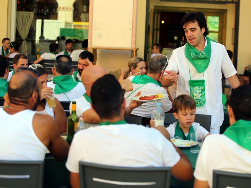 Los sanitarios de Huesca subrayan que no hay San Lorenzo y piden evitar fiestas paralelas