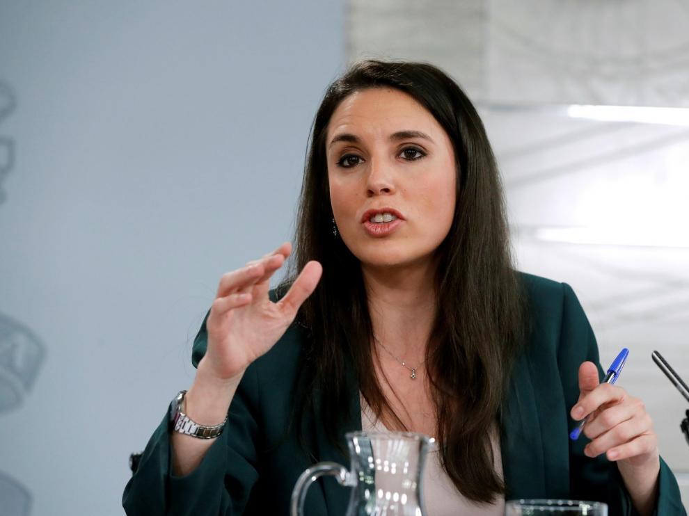 Irene Montero dice que Podemos desconoce si ha habido negociación con la Casa Real