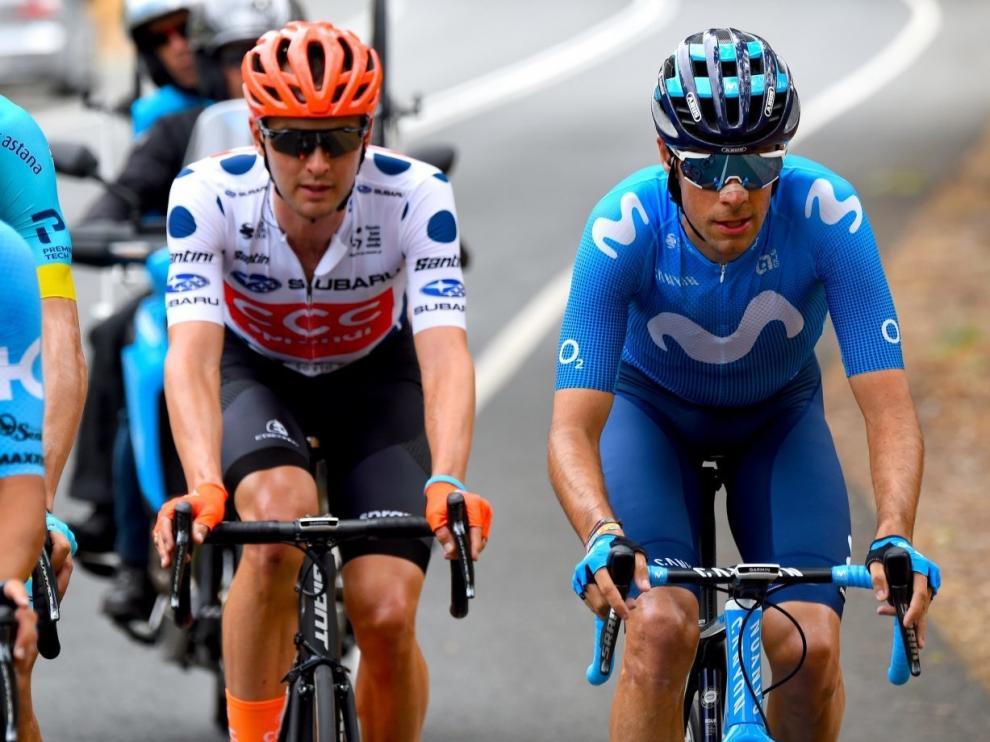 Jorge Arcas disputa el Tour de Polonia