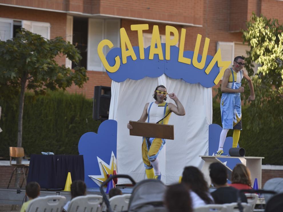 Circo La Raspa atrae a público familiar en la capital oscense