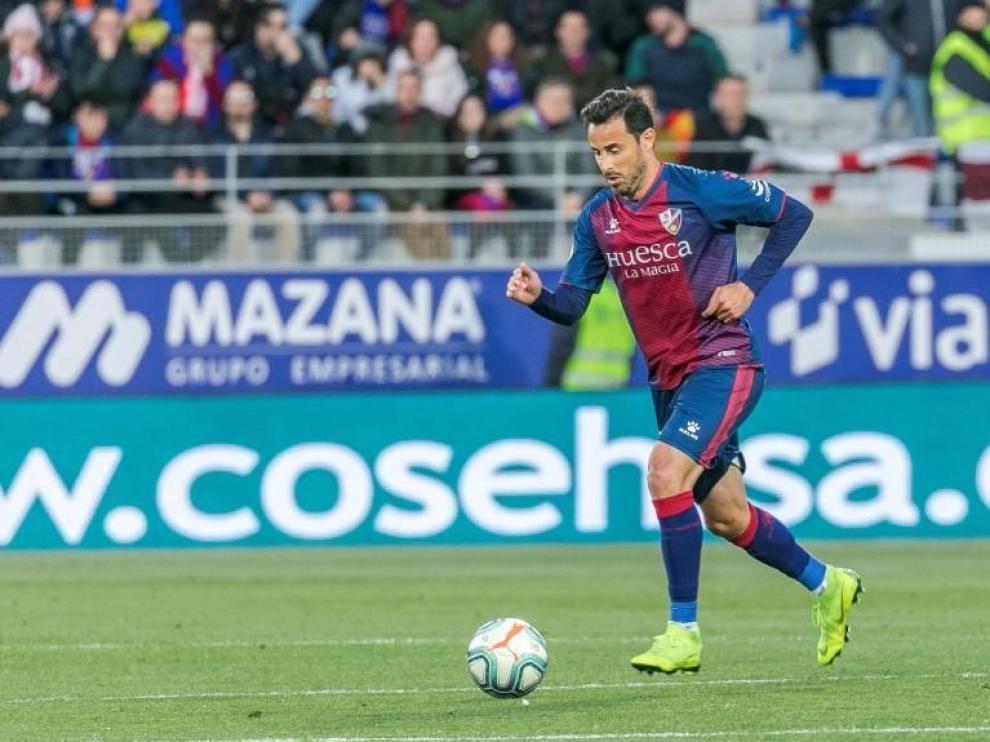 La lesión de Pedro López, que puede estar un mes de baja, acelera el fichaje en el Huesca