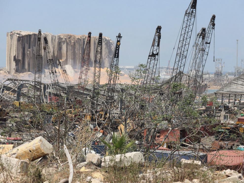 Indignación y dolor en Beirut en la explosión del puerto