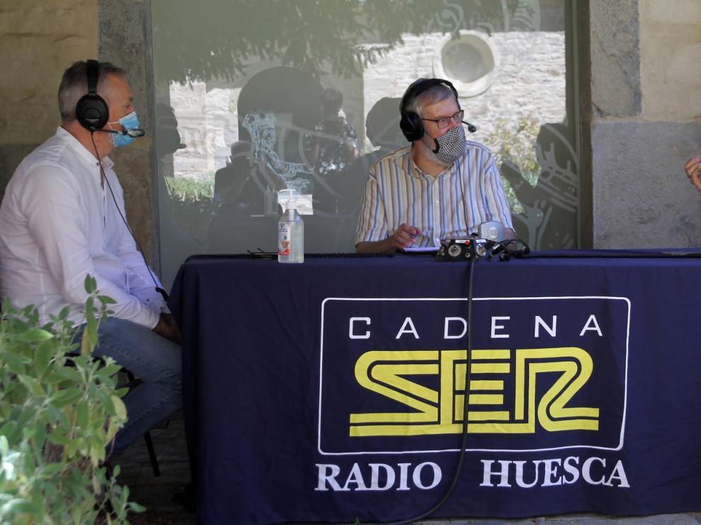 Programa especial en Radio Huesca