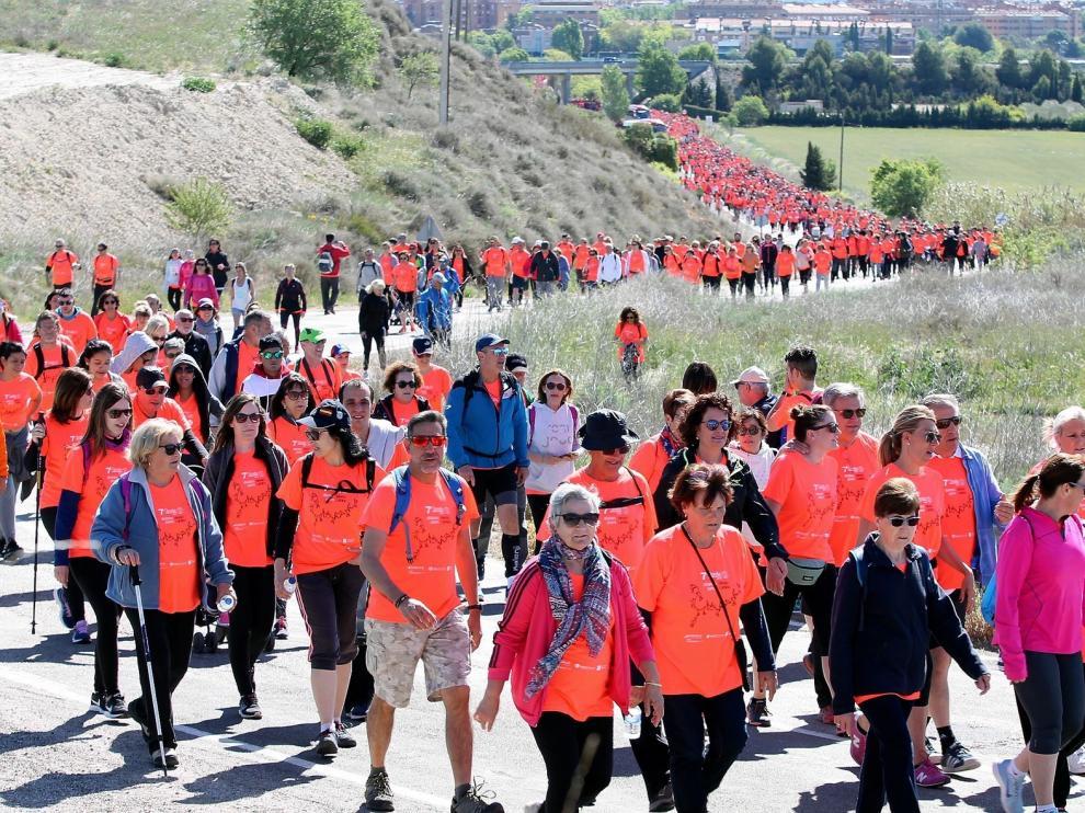 La VIII Marcha Aspace Huesca alcanza los 1.000 inscritos en tres días