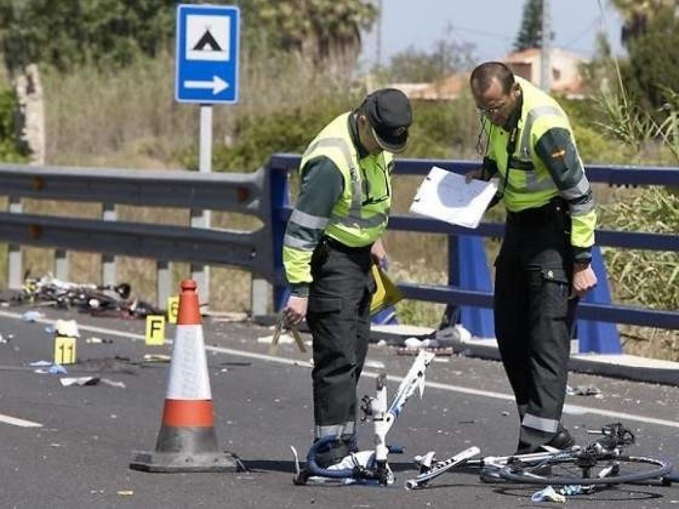 Menos muertes de tráfico en 2019, pero aumentan las de motoristas y ciclistas