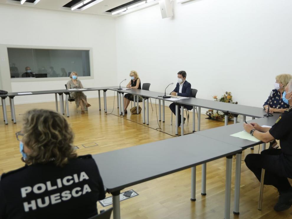 Celebraciones en locales particulares y huertos, en el foco de la vigilancia para evitar fiestas en Huesca