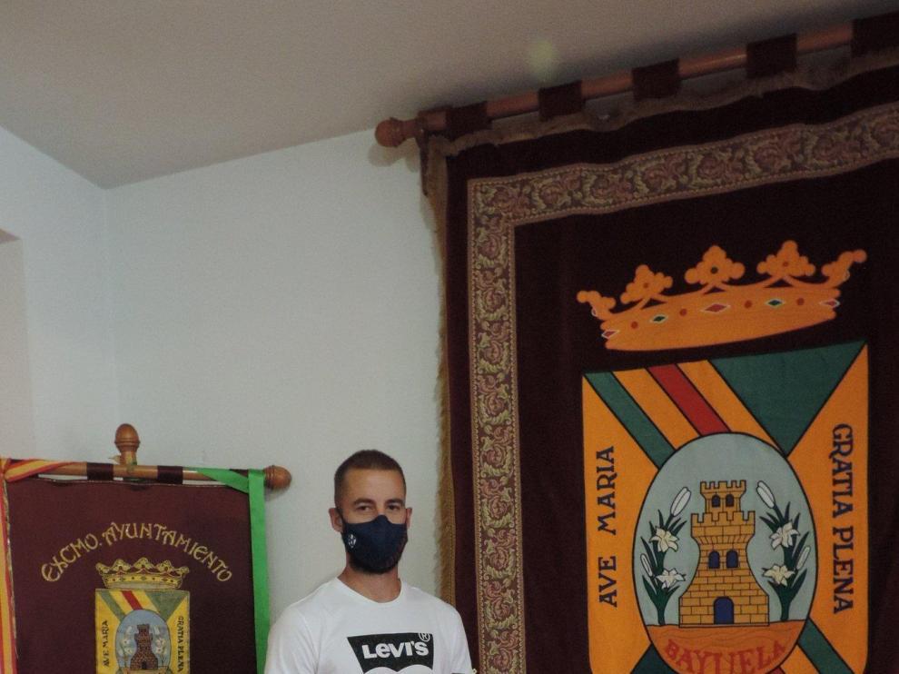 Pulido, embajador de su pueblo y del Huesca
