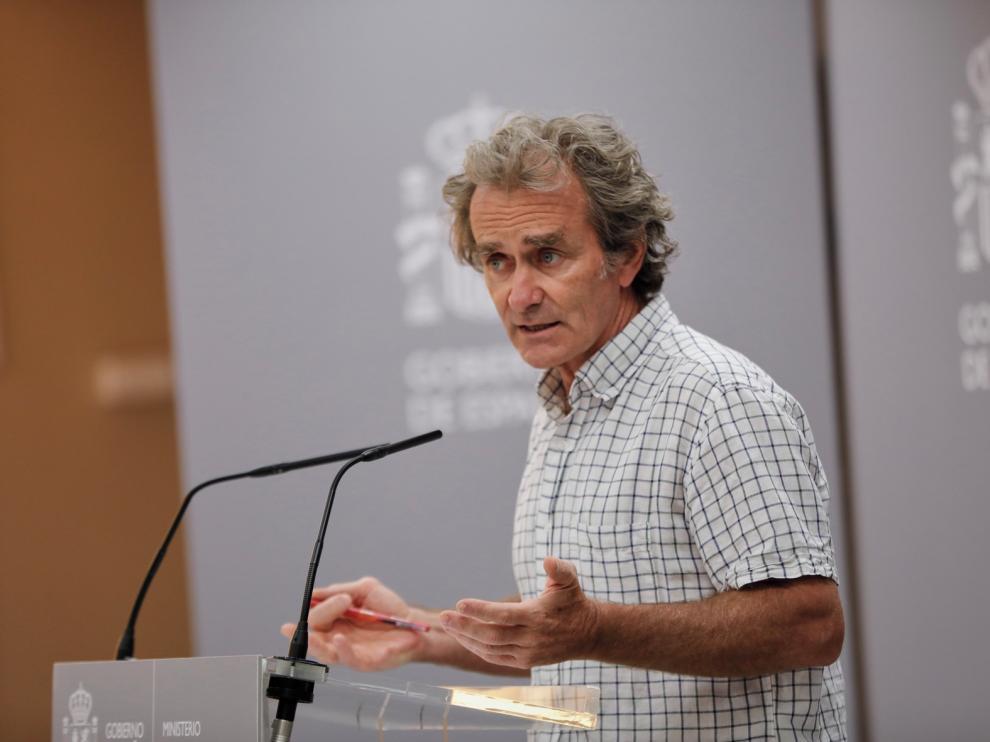 """Simón: """"Es muy probable que se haya superado el pico de transmisión en Aragón"""""""