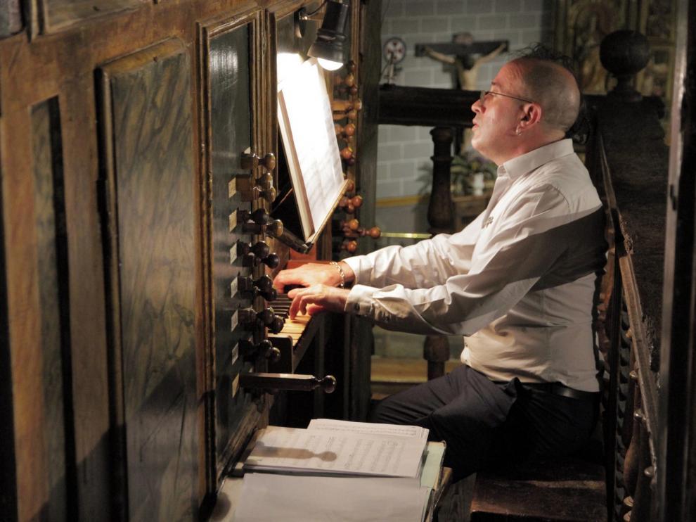 Sosiegos y batallas desde la maestría de Chus Gonzalo en el órgano de Berdún
