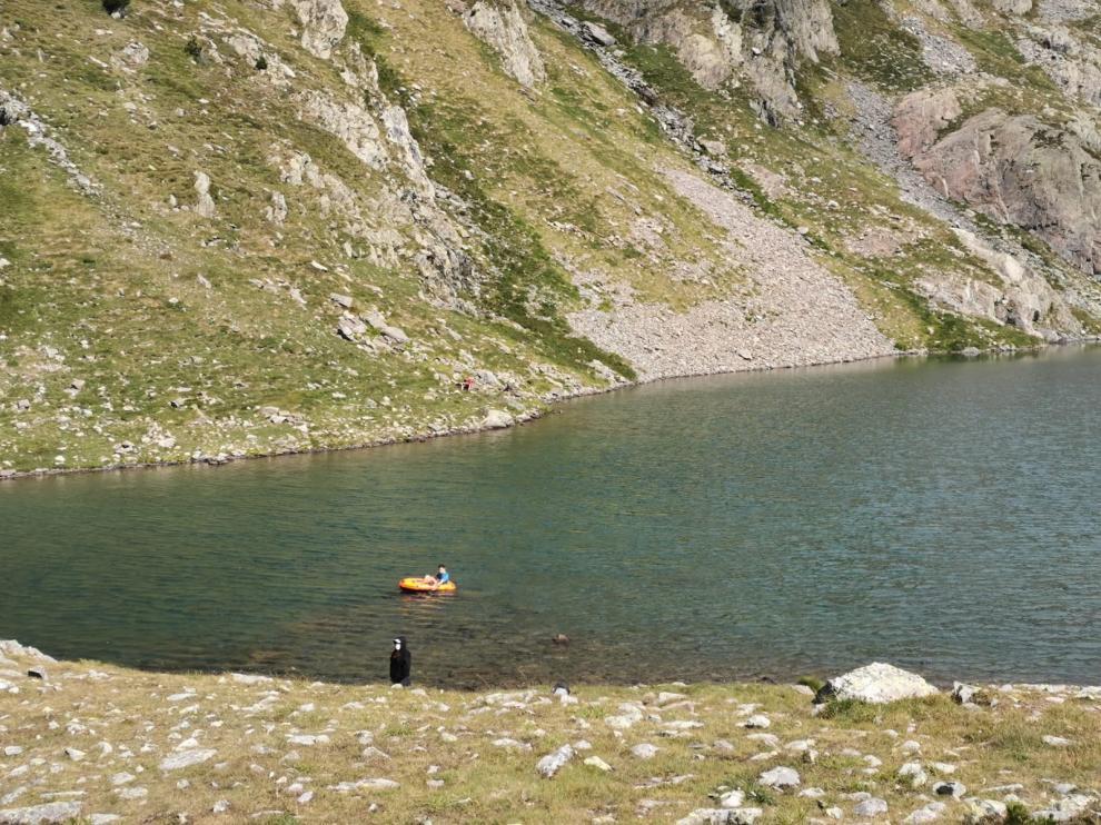Navegación en alta montaña