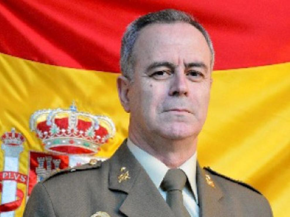 """Carlos Jesús Melero Claudio, general jefe de la División """"Castillejos"""""""