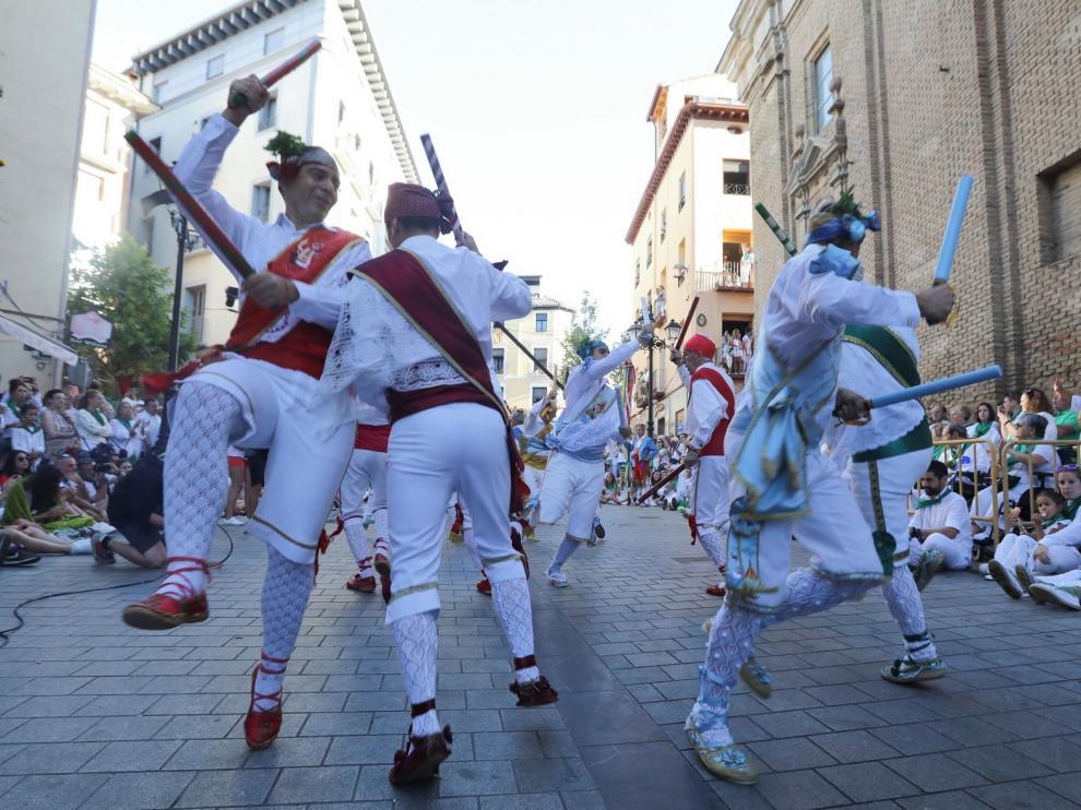 Los accesos a la plaza de San Lorenzo de Huesca el día 10 quedarán restringidos a la entrada a la Basílica