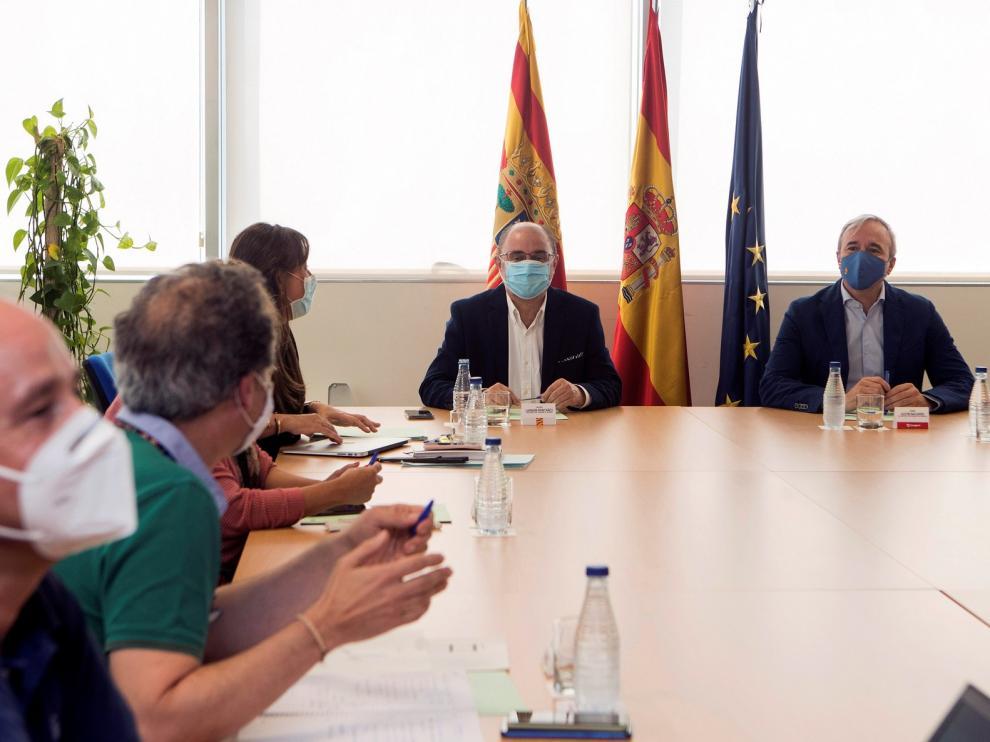 """Aragón se encuentra en una fase de """"meseta o ascenso lento"""" de la onda epidémica"""