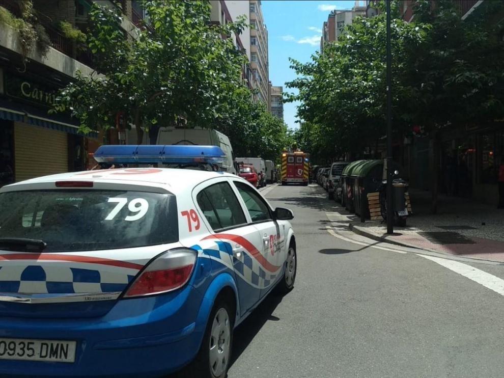 Detenido un joven por un robo con violencia a una persona mayor en Zaragoza