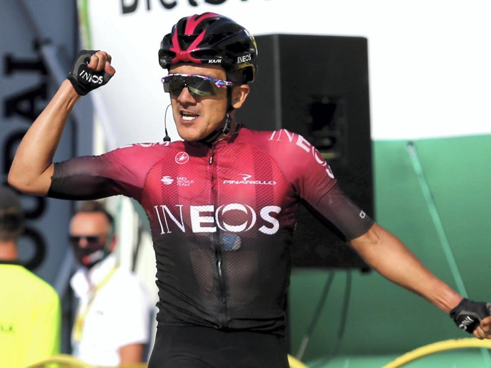 Carapaz se pone líder en la Vuelta a Polonia