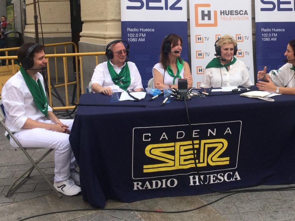 Radio Huesca y HTV reviven el alma festiva con responsabilidad
