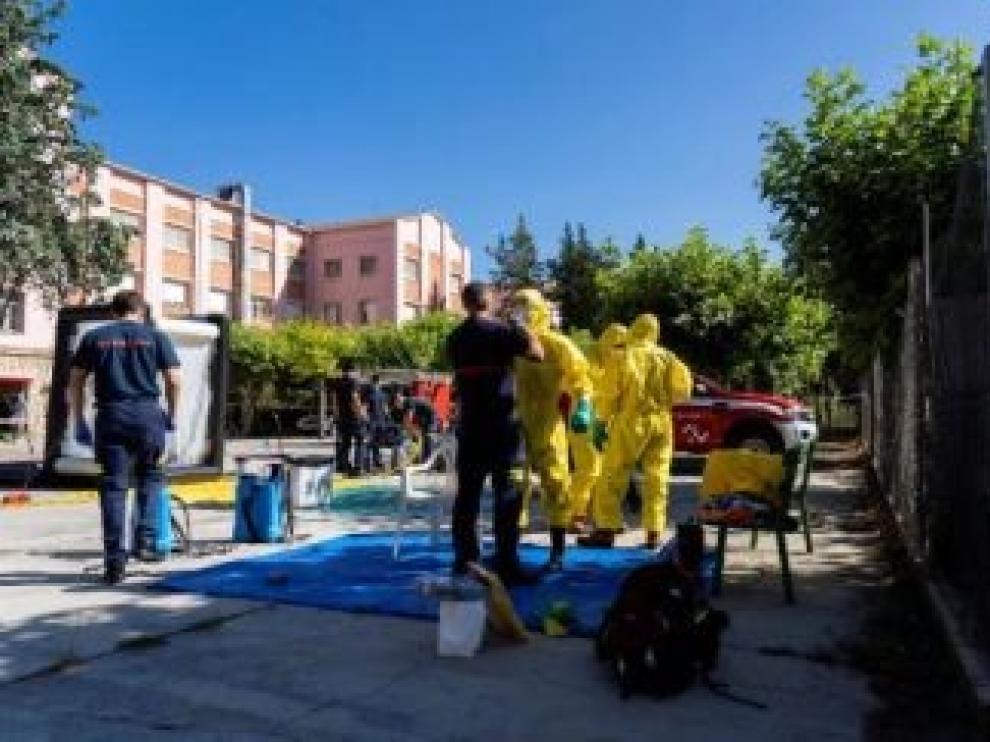 Fallecen otros dos ancianos de la residencia de Burbáguena por coronavirus