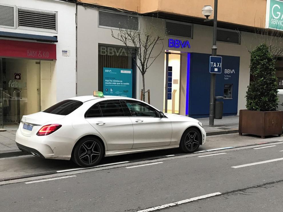 El servicio de taxi de la ciudad de Huesca adapta sus tarifas a la suspensión de las Fiestas